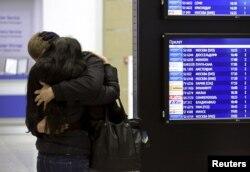 В аэропорту Пулково, 31 октября 2015 года