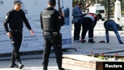 عکس مربوط به انفجار در استانبول