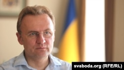 Lviv Mayor Andriy Sadovyy