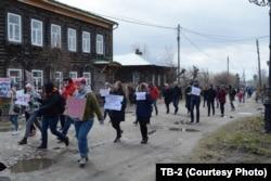 Монстрация в Томске