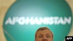 یان دهوپ فشر، دبیر کل ناتو در افتتاحیه نشست بخارست (عکس از AFP)