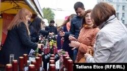 Producători de vinuri la Ziua națională a vinului. 7 octombrie 2017