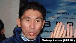 Политолог Досым Сатпаев в Алматы. 23 сентября 2015 года.