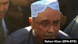 د پاکستان پخوانی ولسمشر اصف علي زرداري