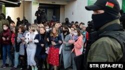 Акция протеста в Минске, 19 сентября 2020 год