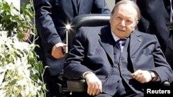 Президент Алжира Абдельазиз Бутефлика, снимок 9 апреля 2018