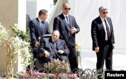Алжир президенті Әбделазиз Бутефлика. 2018 жылдың сәуірі.