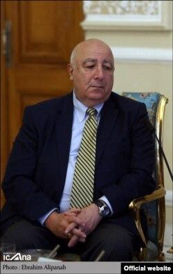 تدو جاپاریدزه اولین مقام گرجی است که از سال ۲۰۱۰ به ایران رفته است
