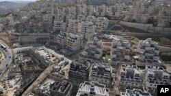Один из районов Восточного Иерусалима