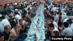 Ифтар в ташкентской мечети «Минор».