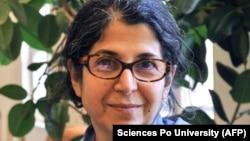Iranian-French academic Fariba Adelkhah (file photo)
