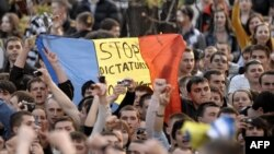 Protest la Chișinău, 6 aprilie 2009