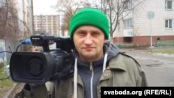 Гомельскі журналіст-фрылянсэр Кастусь Жукоўскі. Гомель, 30 студзеня 2016 году