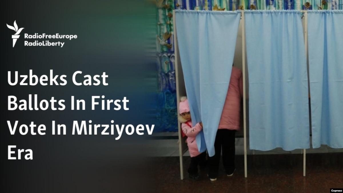 Vote Counting Under Way In Uzbekistan After First Polls Of Mirziyoev Era