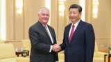 Pekin. ABŞ-nyň döwlet sekretary Reks Tillerson Hytaýyň prezidenti Si Jinping bilen duşuşdy.