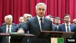 Глава непризнанной республики Абхазия