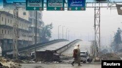 نمایی از شهر حلب