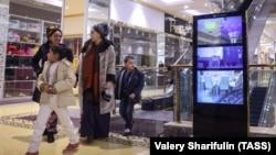 """Торговый центр """"Беркарар"""", Ашхабад, февраль 2017."""