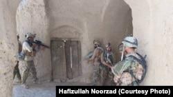 نیروهای امنیتی افغانستان در جریان یک عملیات