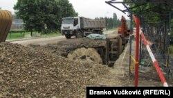 Jedan od NATO projektila pronađen je svojevremeno ispred FAS-a u Kragujevcu
