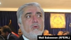 عبدالله عبدالله رئیس اجرائیه حکومت وحدت ملی افغانستان