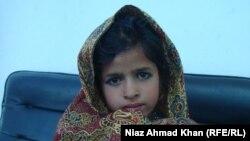 Pakistanly 6 ýaşly Bibi Roza