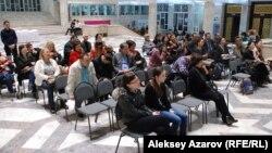 На вечере памяти казахского ученого Абдусагита Жиренчина. Алматы, 11 апреля 2014 года.