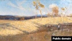Артур Стрытан, «Залатое лета, Іглмант» (1889)