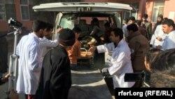 آرشیف، زخمیهای حادثه ترافیکی در شاهراه هرات-کندهار