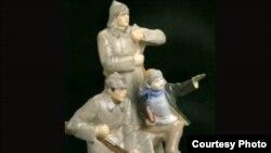 Выставка фарфора окунула зрителей в советское прошлое.