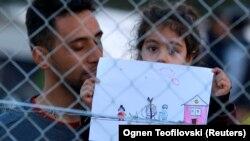 Makedonsko-grčka granica 30. novembra 2015