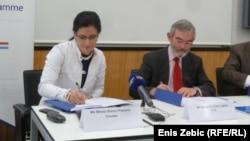 Potpisivanje ugovora između Hrvatske i Razvojne banke Vijeća Europe, Zagreb, 23.6.2014.
