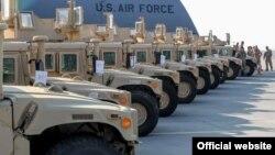 Військові автомобілі – допомога українській армії від США, Київ, 25 березня 2015 року