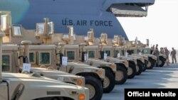 Vehicule americane Humvee pentru Ucraina.
