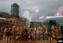 Булочная в центре Петербурга