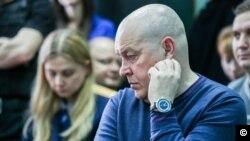 экс-начальник УМВД по Томской области Игорь Митрофанов в зале суда (фото Агенства новостей Тв-2)