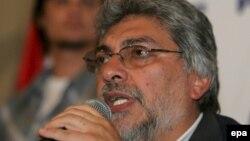 Отстраненный от власти экс-президент Парагвая Фернандо Луго