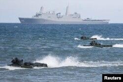 НАТО проводит на востоке Европы не только сухопутные, но и морские учения