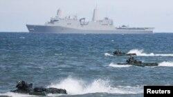 Военные учения НАТО в Балтийском море, июнь 2015 года. Иллюстративное фото.