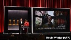مراسم معرفی نامزدهای اسکار سال ۲۰۱۵