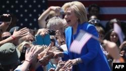АҚШ-тың бұрынғы мемлекеттік хатшысы, 2016 жылы өтетін АҚШ президенті сайлауына үміткер Хиллари Клинтон.