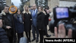 Nemanja Ristić u neposrednoj blizini šefa ruske diplomatije Sergeja Lavrova, u Beogradu