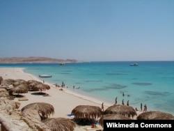 Сауд Арабиясы аумағындағы Қызыл теңіз.