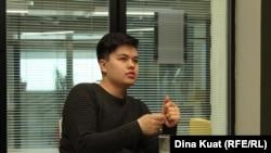 Один из создателей организации Next.kz Рустам Жантасов.