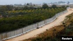 Стена на турецко-сирийской границе