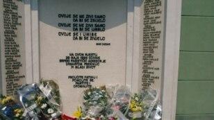 Spomenik ubijenima na Kapiji u Tuzli