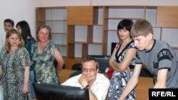 La Liceul Evrika din Rîbnița