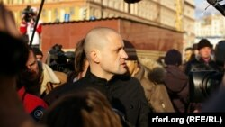 Left Front leader Sergei Udaltsov reported earlier on his Twitter account that he also had been detained.