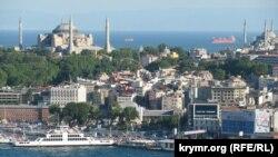 İstanbul mənzərəsi.
