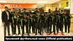 Футболисты Yaounde II Academy в Симферополе